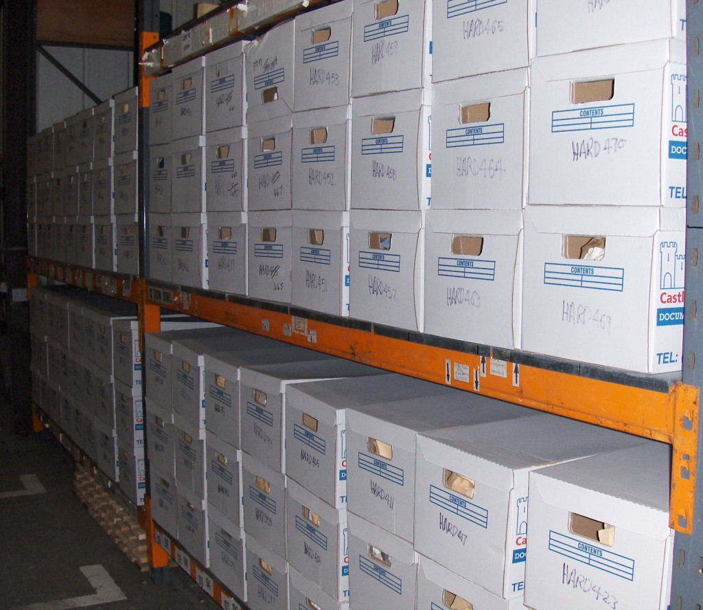 document archiving service Kingsdown